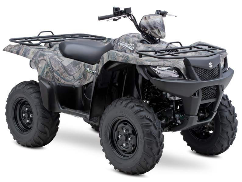 2014 Suzuki KingQuad® 500AXi Power Steering Camo