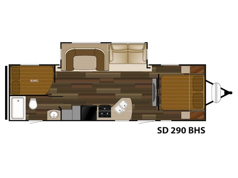 2014 Sundance RVs 290 BHS