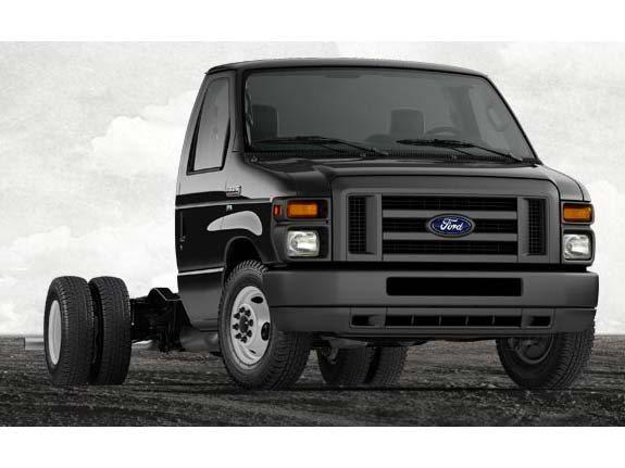 2014 Ford E-350 DRW Cutaway