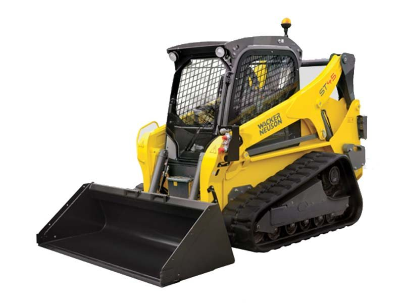 ST45 Compact Track Loaders are now in stock! Both versions, premium cab and open station!