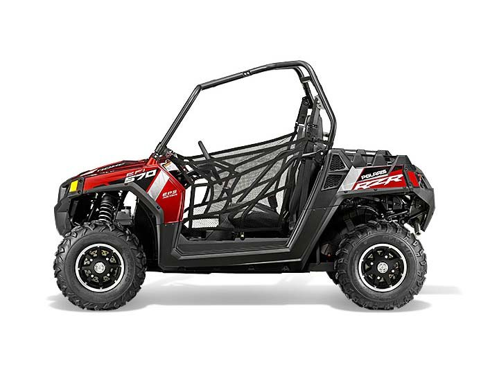 2015 Polaris RZR 570 EPS Trail - Sunset Red