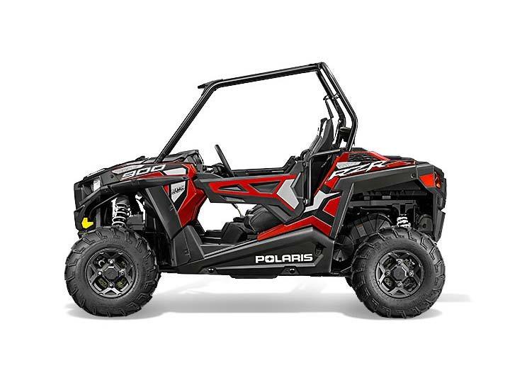 2015 Polaris RZR® 900 EPS Trail - Sunset Red