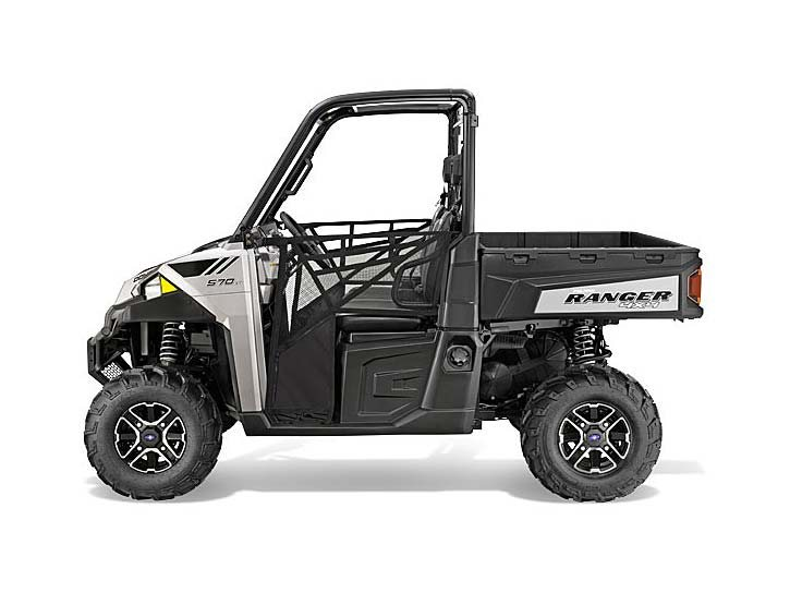 2015 Polaris Ranger® 570 EPS Full-Size - Turbo Silver