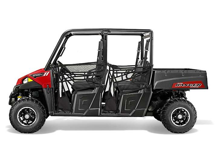 2015 Polaris Ranger Crew 570 EPS - Sunset Red