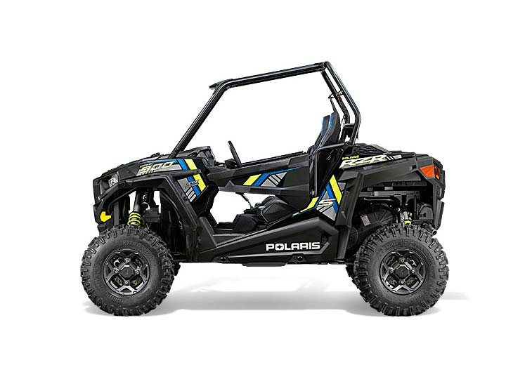2015 Polaris RZR S 900 EPS - Black Pearl