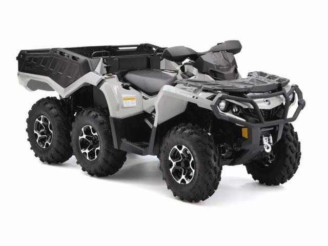 This is the coolest ATV ever!  The ultimate work machine with true 6x6 power.  Darn near unstoppable