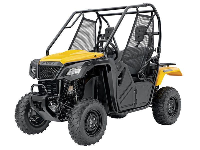 You have to check out the Hot new Pioneer 500 4x4 with 5-speed