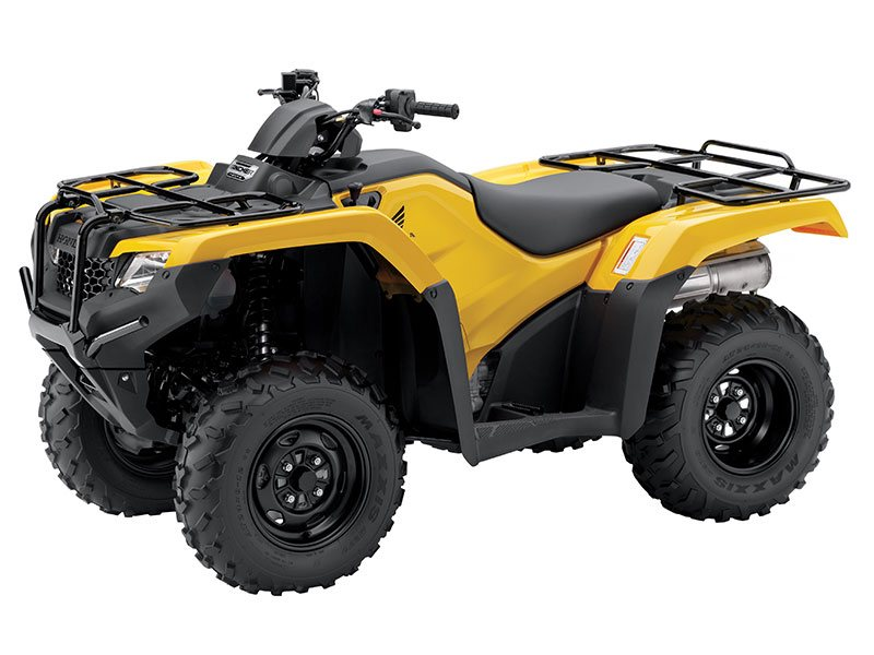 Here Now, Hot new Yellow Color Rancher Automatic 4x4 with Power Steering Solid Rear Axle, Swingarm Suspension