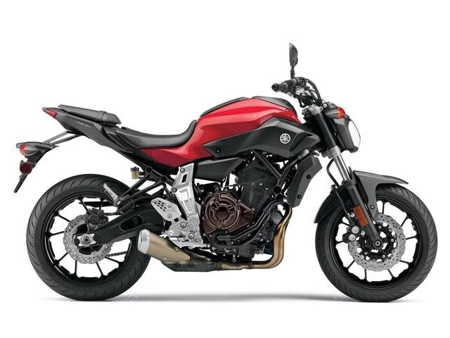 Come see the Brand New 2015 Yamaha FZ-07 in Rapid Red!!