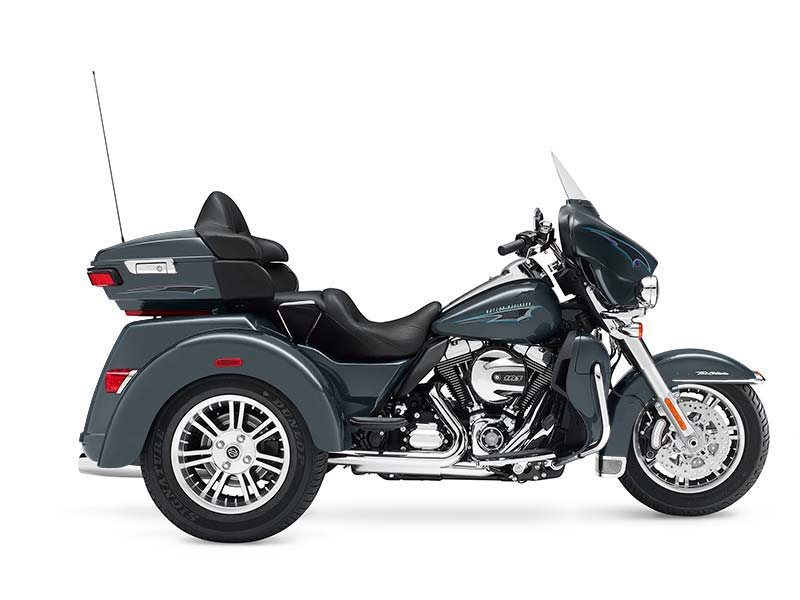 How much motorcycle can you fit on three wheels? One look at the Tri Glide� Ultra motorcycle and you'll have your answer.