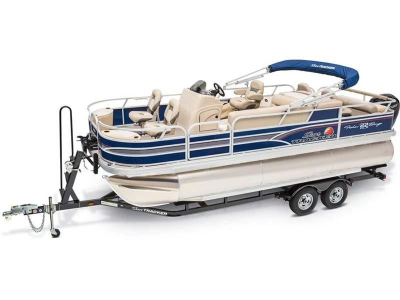 2015 Sun Tracker Fishin' Barge® 22 DLX