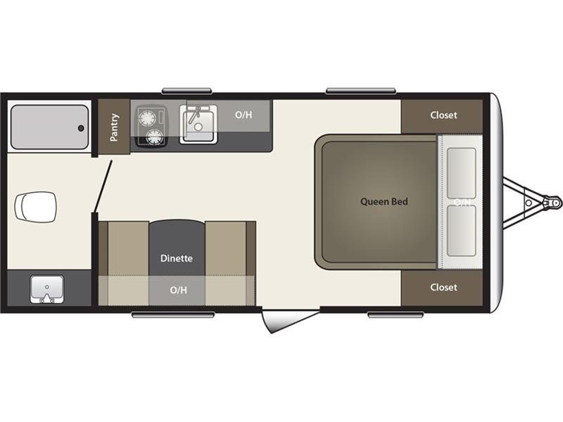 ONE OF FOUR NEW LITE WEIGHT FLOORPLANS WITH DRY WEIGHTS BETWWEEN 2700 LB AND 3100 LB !