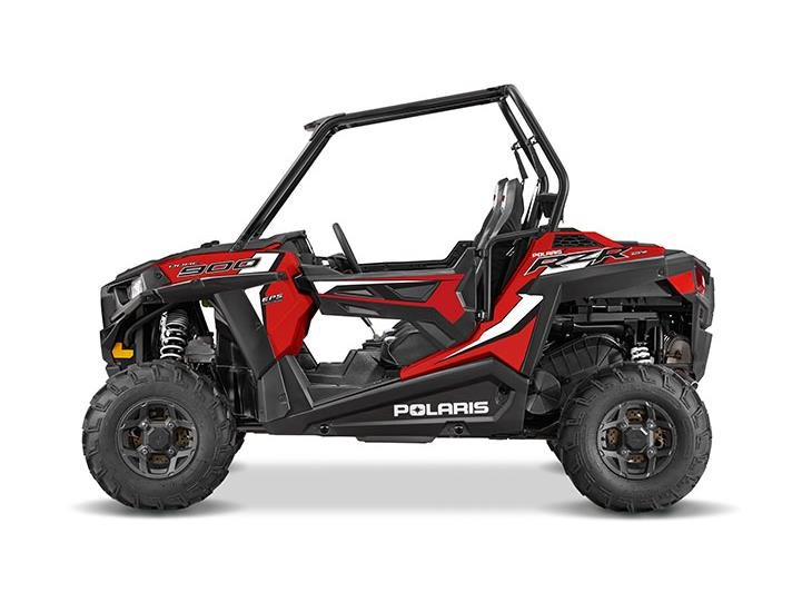 2016 RZR 900 EPS Havasu Red Pearl