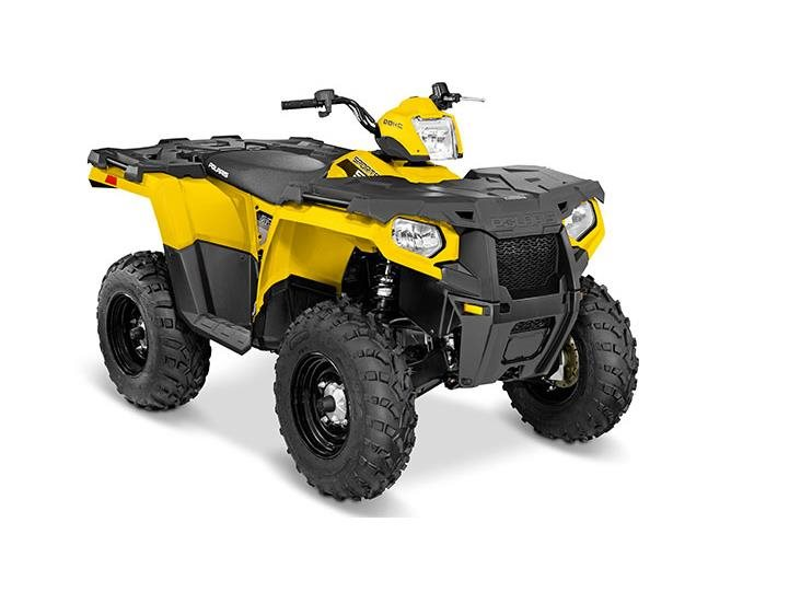 2016 Sportsman 570 Yellow