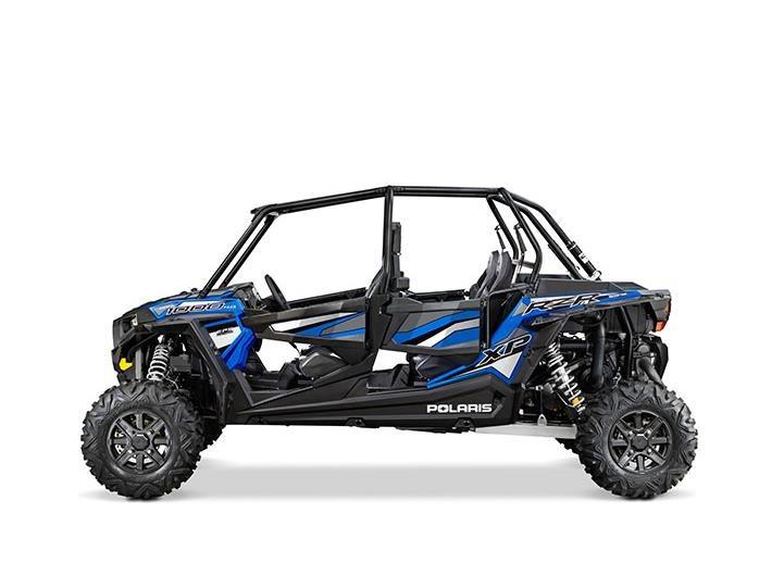 2016 RZR XP 4 1000 EPS Electric Blue Metallic
