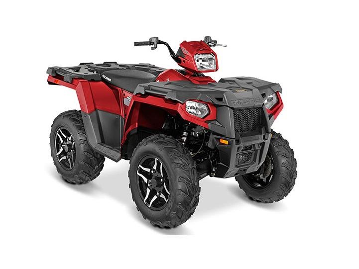 2016 Sportsman 570 SP Sunset Red