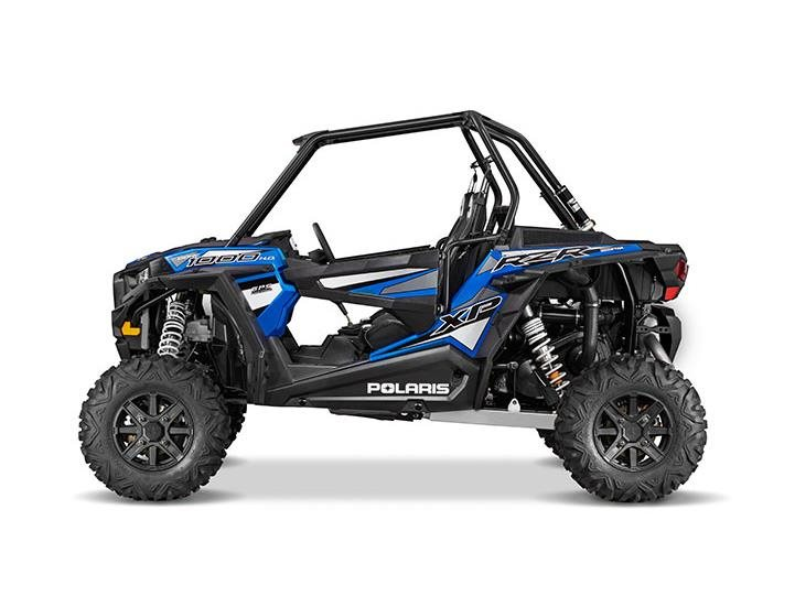 2016 RZR XP 1000 EPS Electric Blue Metallic