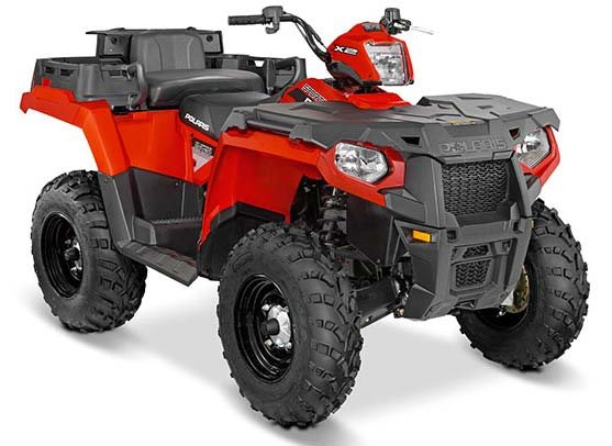 2016 Sportsman X2 570 EPS Indy Red