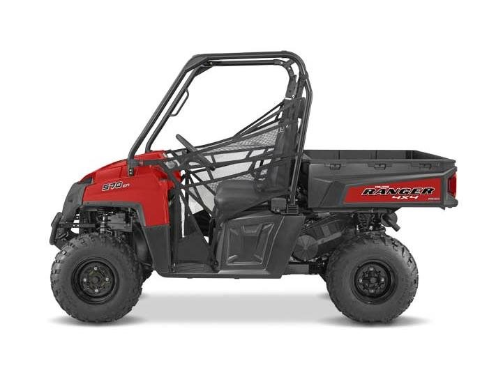 2016 Ranger 570 Full-Size Solar Red