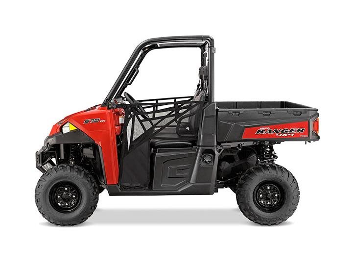 2016 Ranger XP 570 Solar Red
