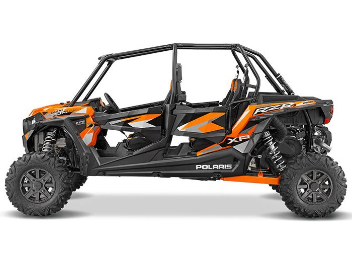 2016 RZR XP 4 Turbo EPS Spectra Orange