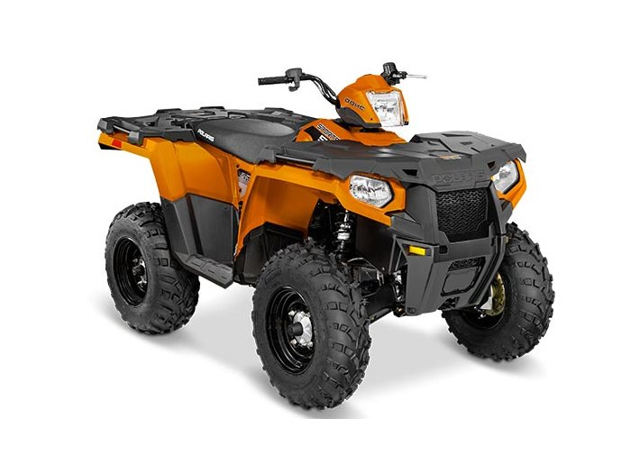 2016 Sportsman 570 Orange Burst