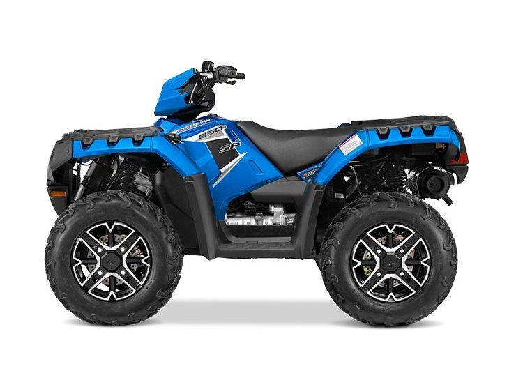 2016 Sportsman 850 SP Velocity Blue