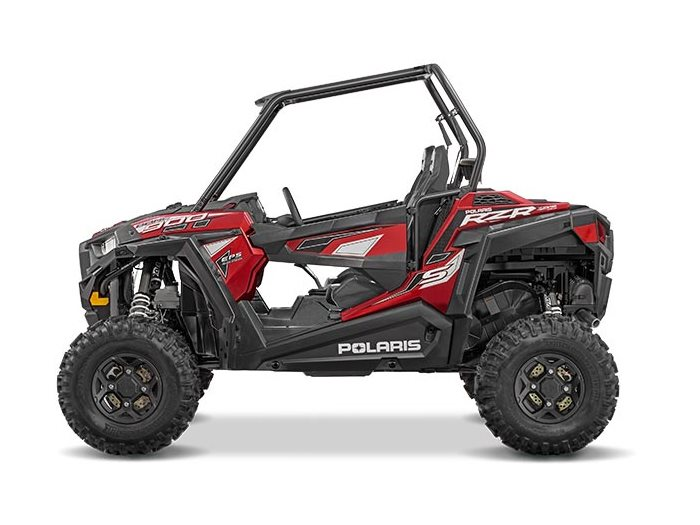 2016 RZR S 900 EPS Matte Sunset Red