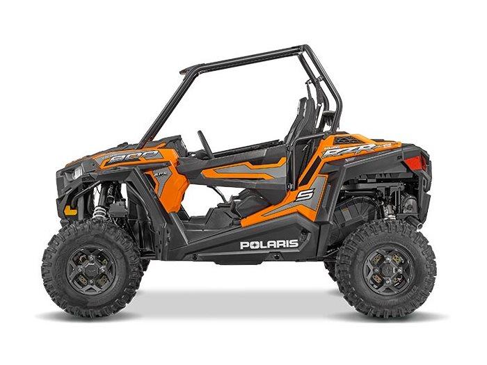 2016 RZR S 900 EPS Spectra Orange