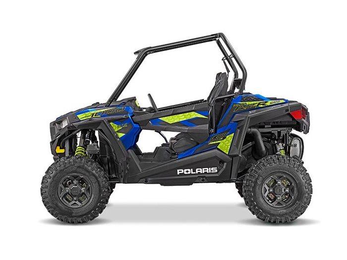 2016 RZR S 1000 EPS Blue Fire Metallic