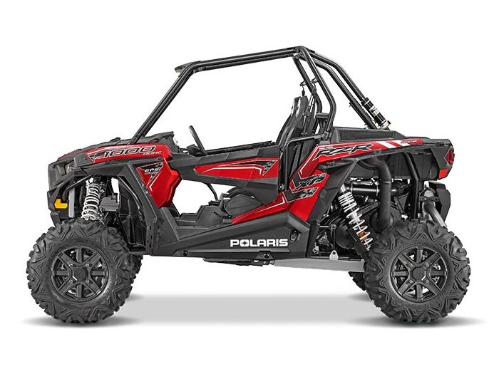 2016 RZR XP 1000 EPS Sunset Red