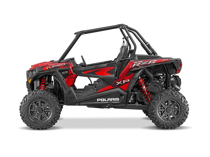 2016 RZR XP Turbo EPS Matte Sunset Red
