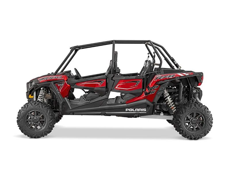 2016 RZR XP 4 1000 EPS Sunset Red
