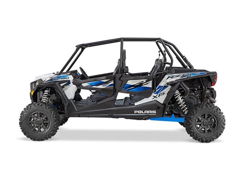 2016 RZR XP 4 Turbo EPS Matte White Lightning