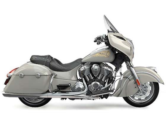 2016 Chieftain Silver Smoke