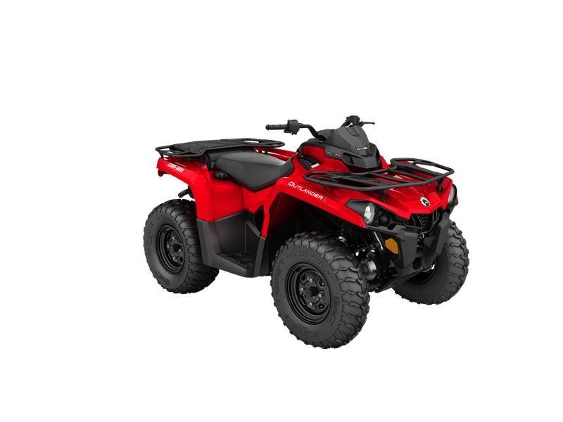 2016 Outlander L 450 Viper Red