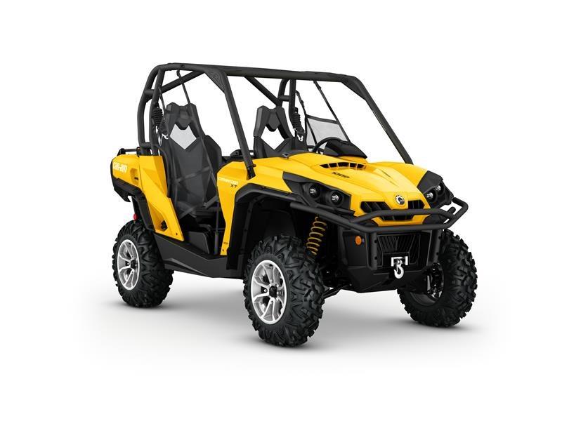 2016 Commander XT 1000 Yellow