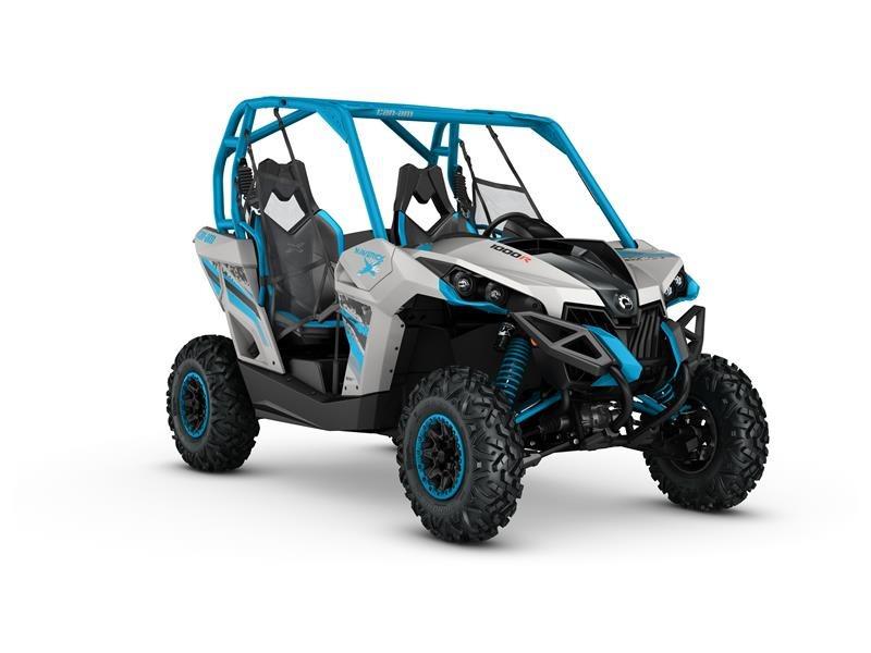 2016 Maverick  X XC 1000R Light Grey / Octane Blue