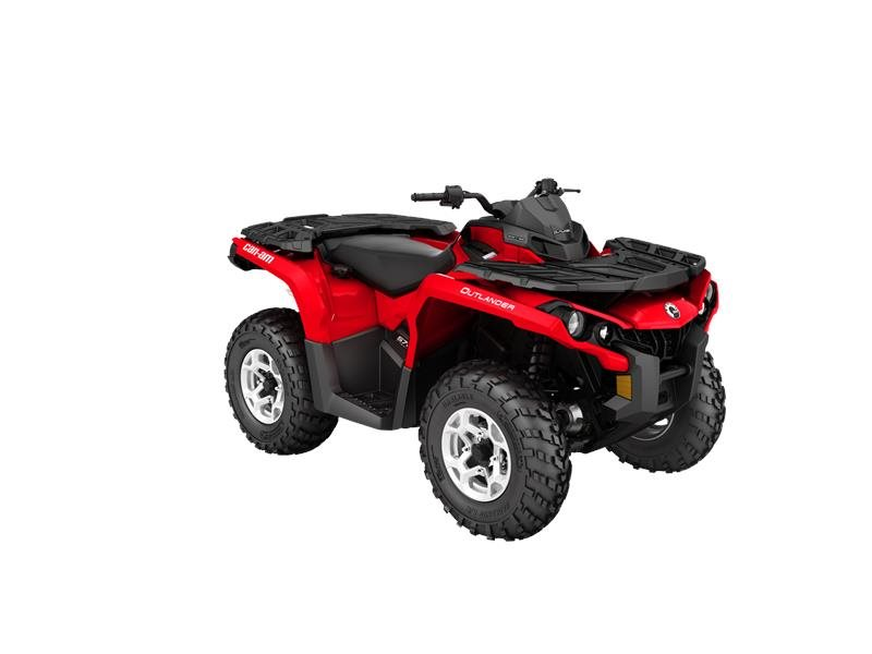 2016 Outlander DPS 570 Viper Red
