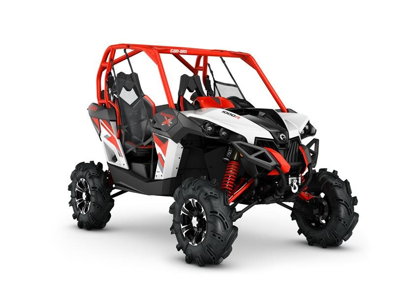2016 Maverick X mr 1000R White / Black / Can-Am Red