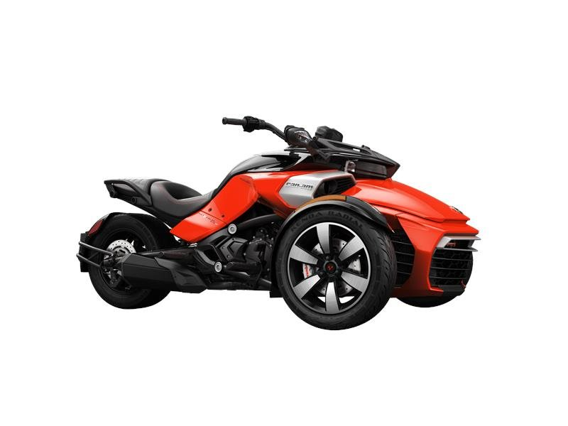 2016 Spyder F3-S SE6 Can-Am Red Solid Gloss