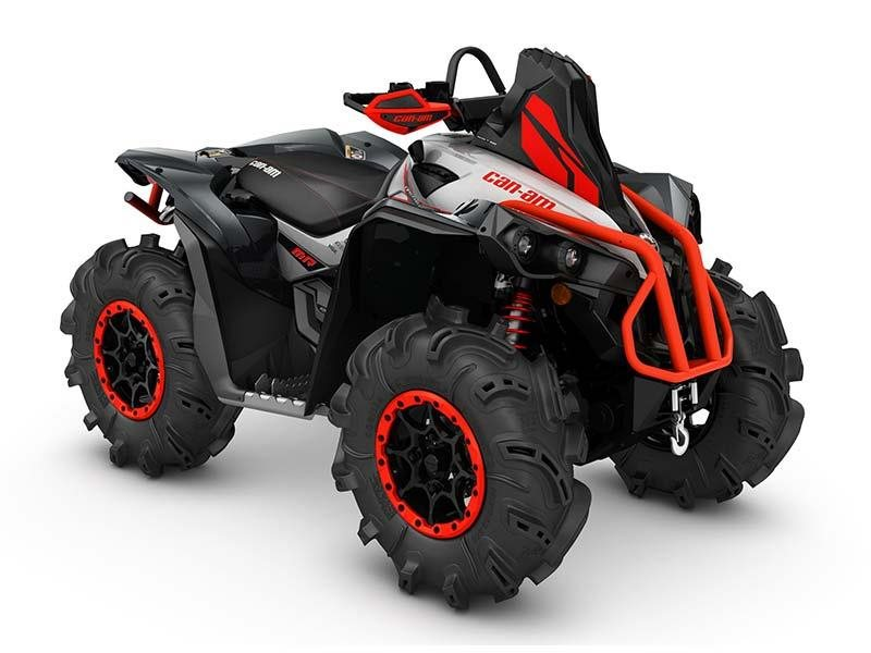 2016 Renegade X mr 1000R Hyper Silver / Black / Can-Am