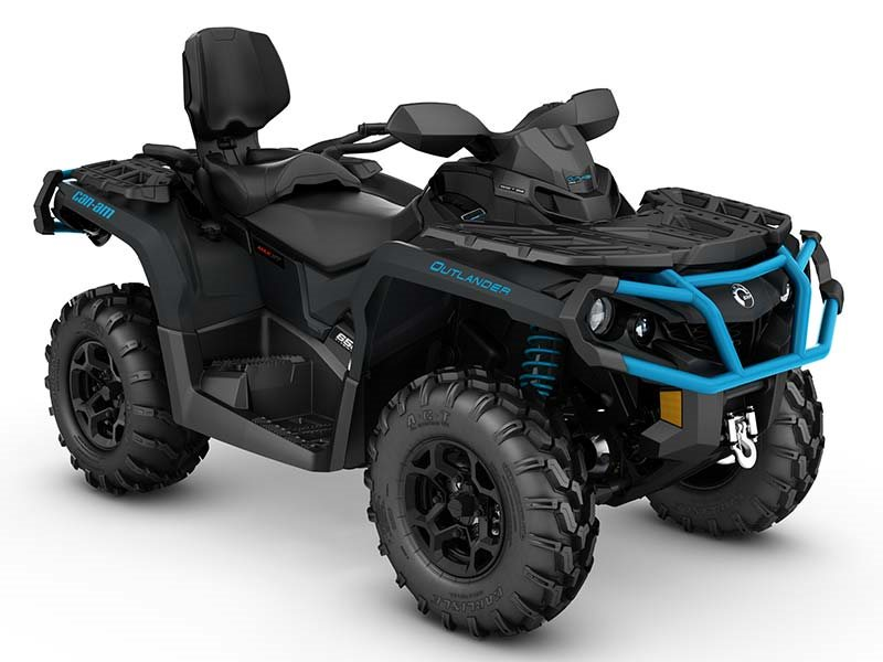 2016 Outlander MAX XT 650 Matte Black / Octane Blue