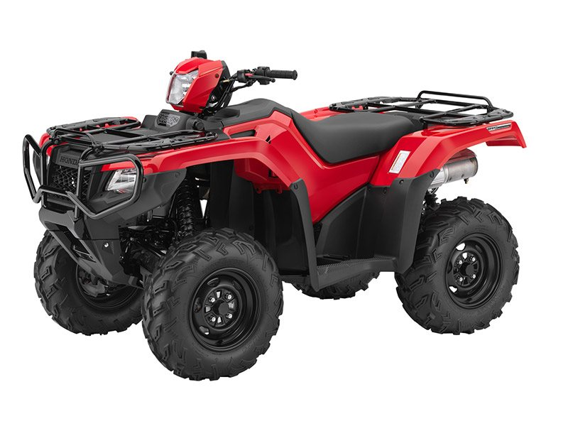 2016 FourTrax Foreman Rubicon 4x4 Red (TRX500FM5)