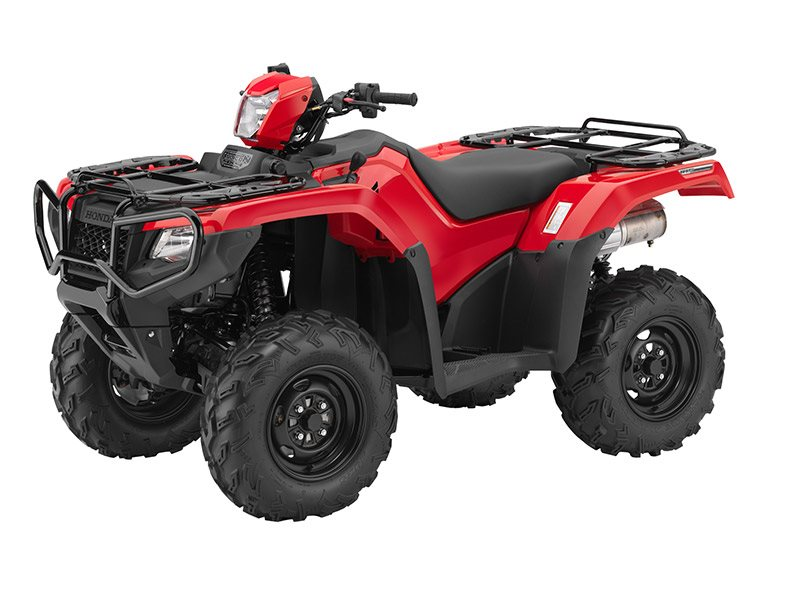 2016 FourTrax Foreman Rubicon 4x4 DCT Red (TRX500FA5)
