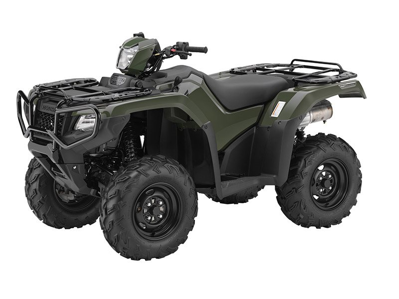 2016 FourTrax Foreman Rubicon 4x4 DCT Olive (TRX500FA5)