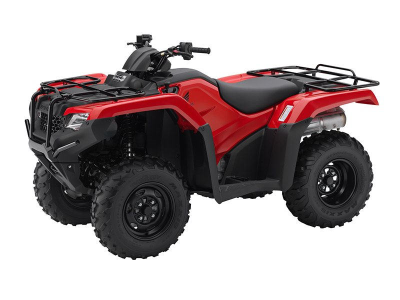 2016 FourTrax Rancher 4x4 ES Red (TRX420FE1)