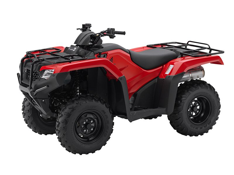 2016 FourTrax Rancher 4x4 DCT Red (TRX420FA1)