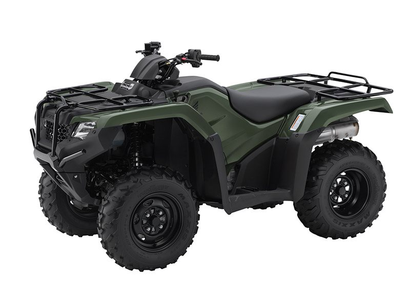 2016 FourTrax Rancher 4x4 DCT Olive (TRX420FA1)