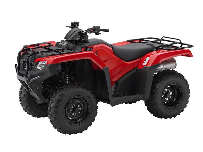 2016 FourTrax Rancher 4x4 DCT EPS Red (TRX420FA2)